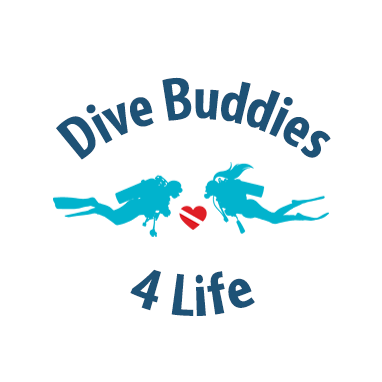 Dive Buddies 4 Life Hero Banner Logo