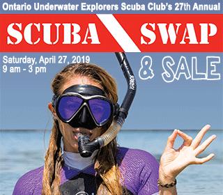 2019 Ontario Scuba Swap Flyer