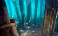 A Close Up Of The Bay Of Bones Columns