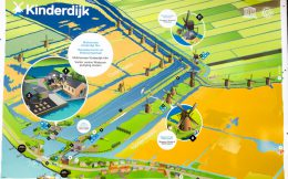 A Map Of The Kinderdijk Heritage Site