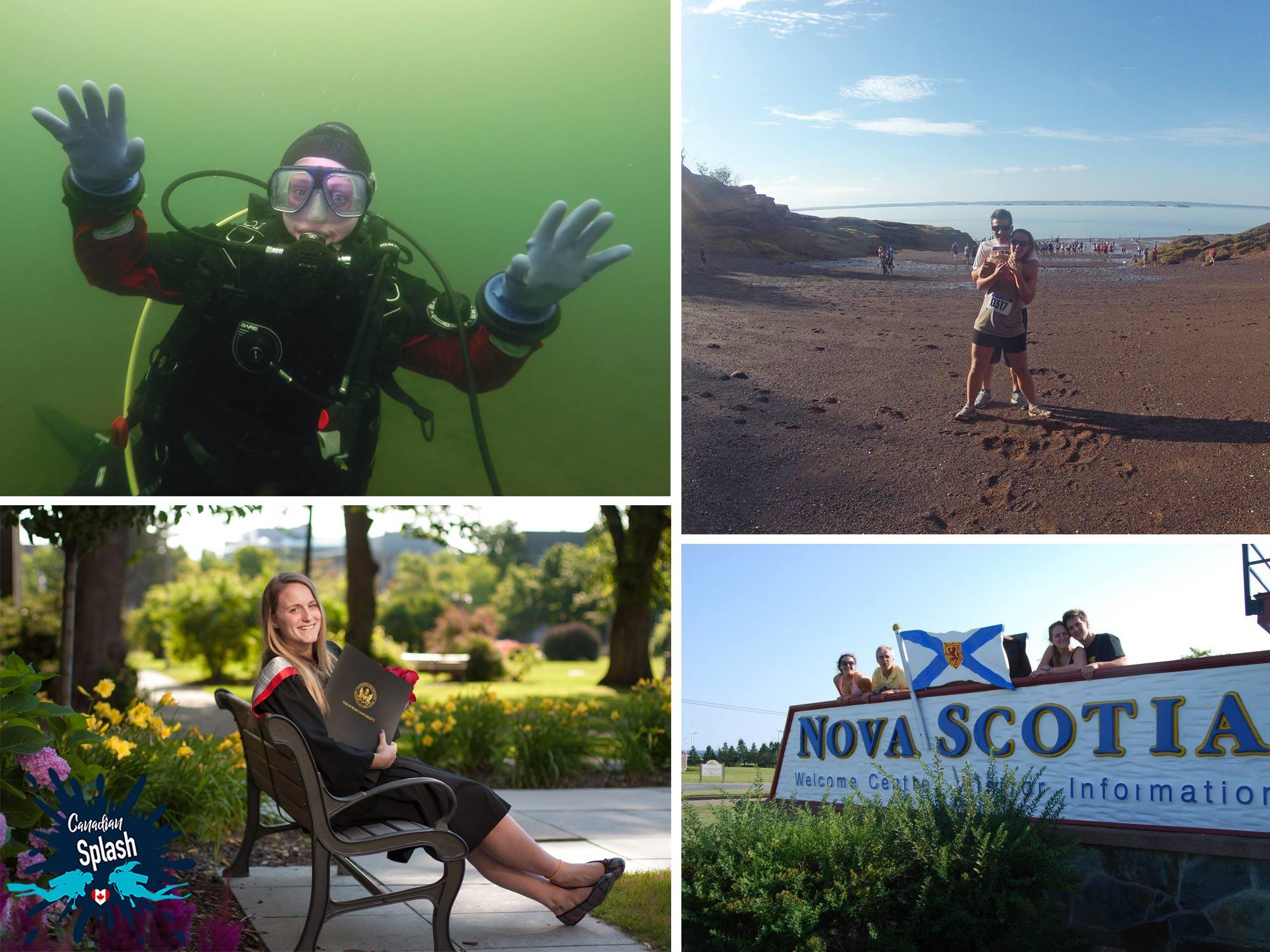Ali Living, Going To School And Working Underwater In Halifax, Nova Scotia, Canada