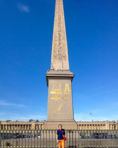 Ali and the Luxor Obelisk