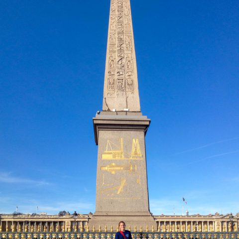 Ali and the Luxor Obelisk