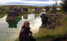 Ali and the Pillars in Myvatn