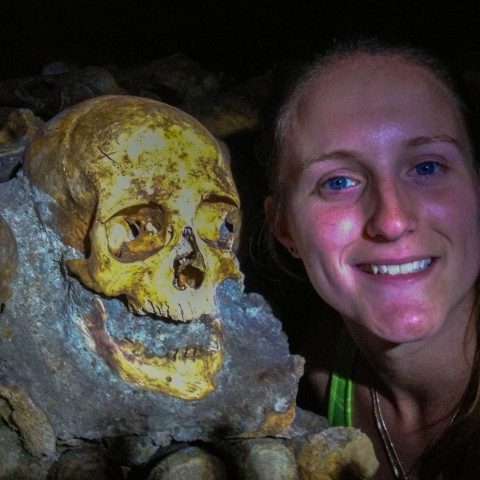 Ali in the Catacombs