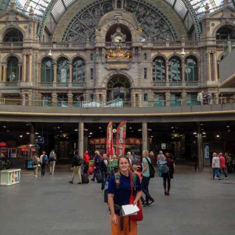 Ali in the Train Station