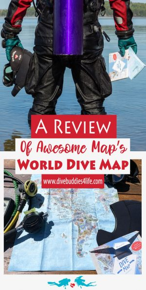 Awesome Maps World Dive Map Review