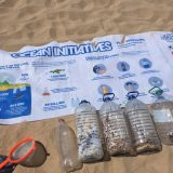Beach Cleanup Surf Rider Information Sign