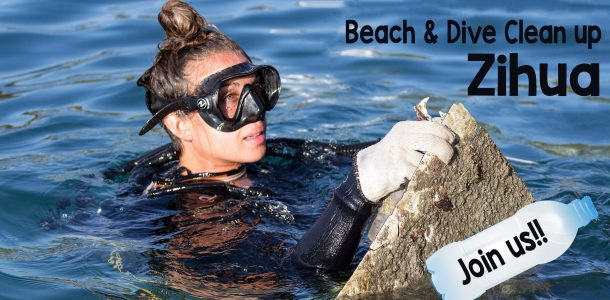 Beach And Dive Plastic Clean Up In Zihuatanejo, Mexico