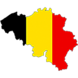 Belgium Country Flag And Shape