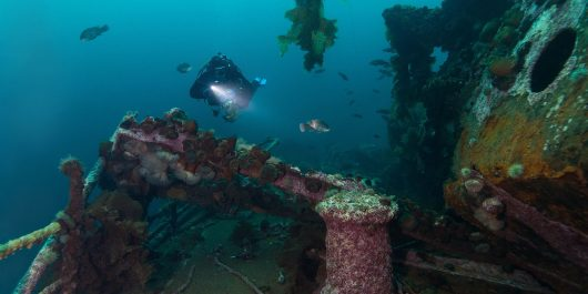Bell Island Newfoundland Shipwreck Scuba Diving, Canadian Scuba Locations