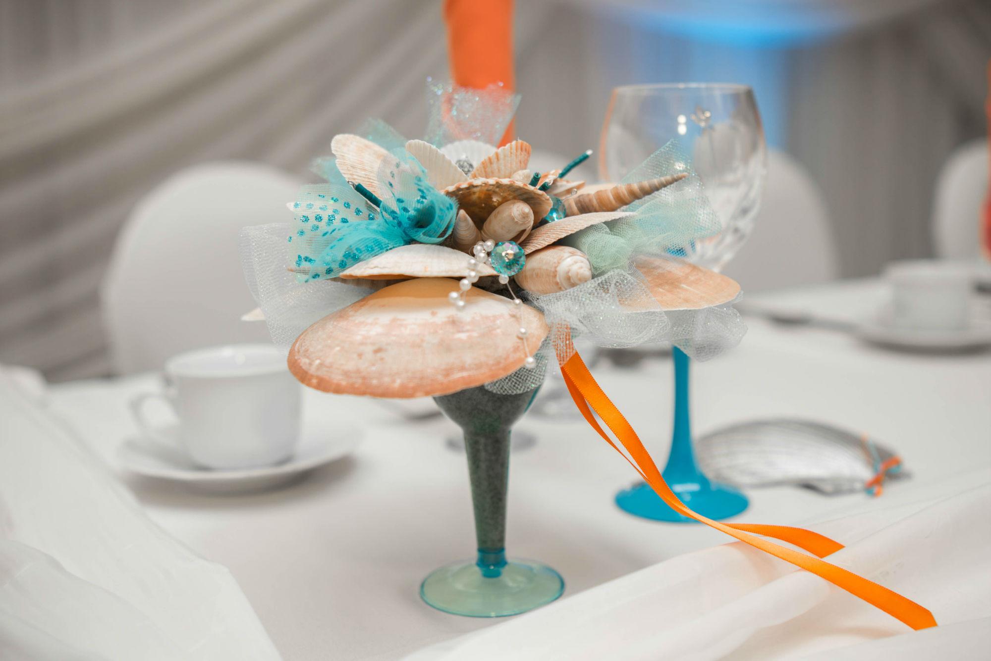 Bridesmaid Shell Bouquet
