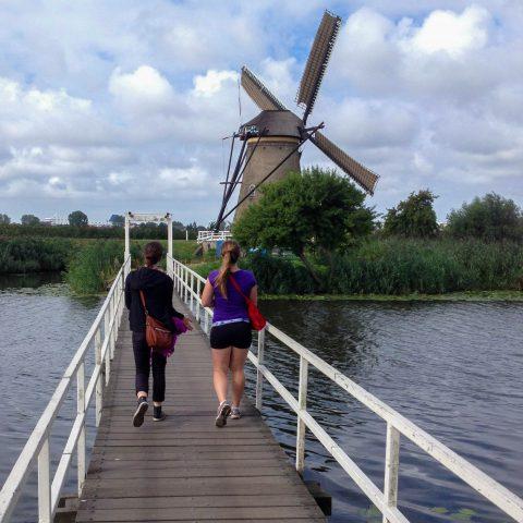 Bridge at the Kinderdijk