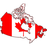 Canada Country Flag And Shape