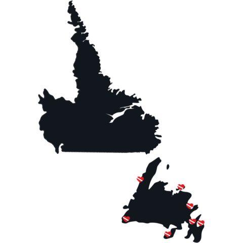 Canadian Splash Newfoundland And Labrador Dive Sites