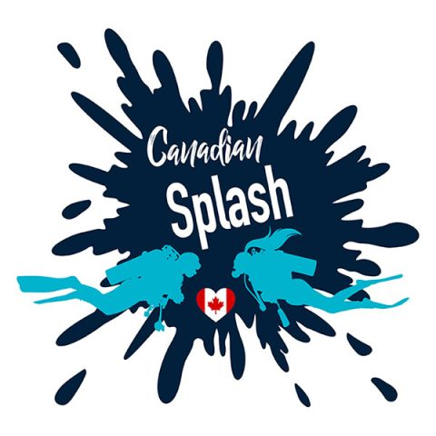 Canadian Splash Scuba Diving Project Logo
