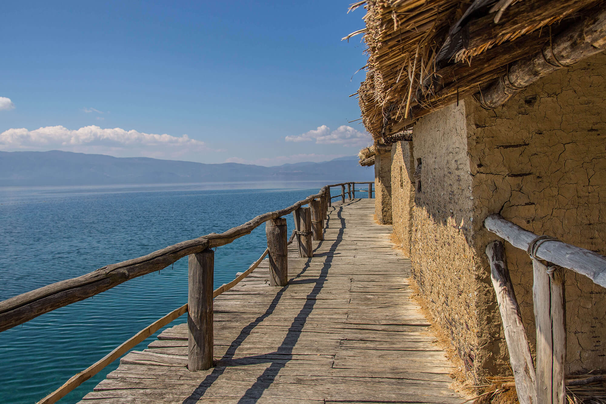 Checking Out The Floating Museum Houses in Macedonia