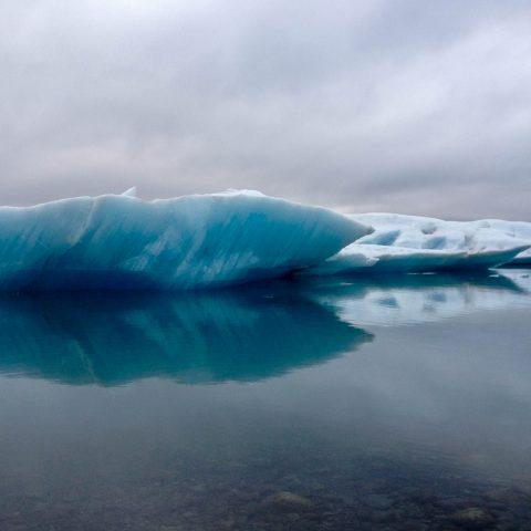 Close up of an Iceberg in Jökulsárlón