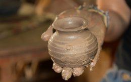 Closeup of Ali's Little Vase