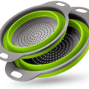 Collapsible Strainer For Camping And Van Travel