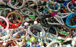 A Collection of Souvenir Bracelets from Cuba