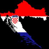 Croatia Country Flag And Shape