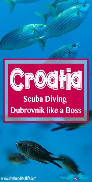 Croatia Scuba Diving Dubrovnik
