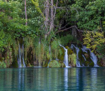 Croatian Waterfalls In Plitvice Lakes National Park