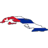 Cuba Country Flag And Shape