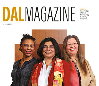 Dal Magazine Cover Spring 2021 Alumni 24 Hour Feature