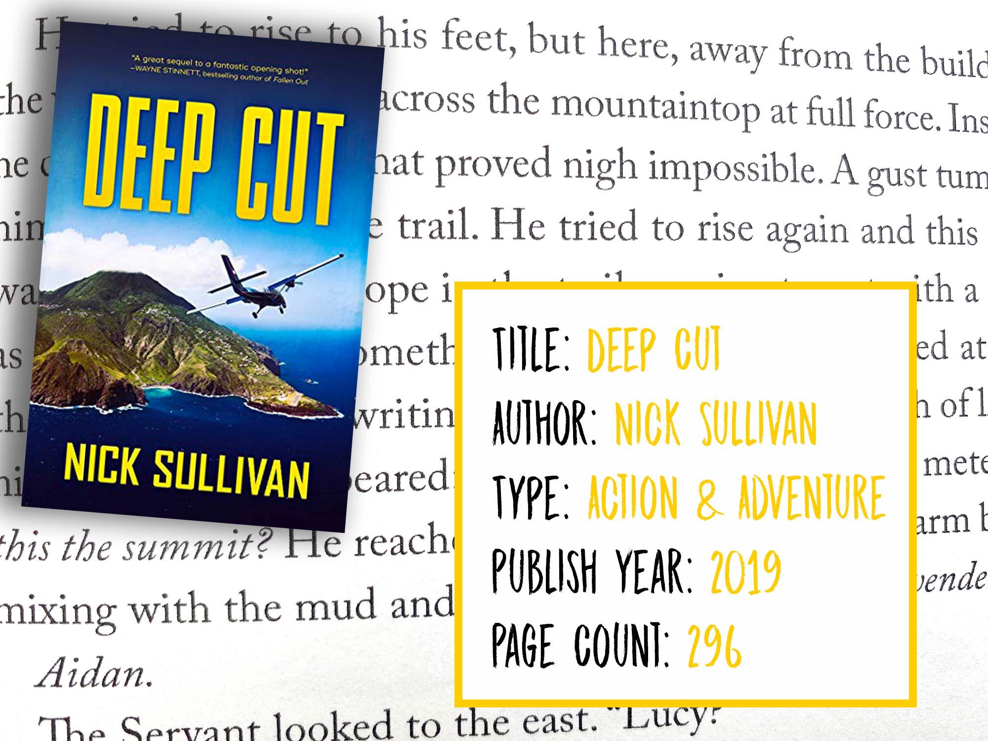 Deep Cut The Deep Series Book Info