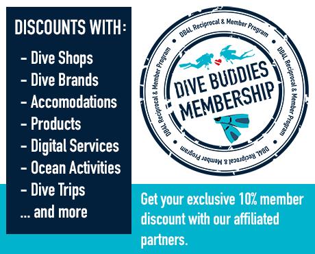 Dive Buddies 4 Life Membership Scuba Shop Product
