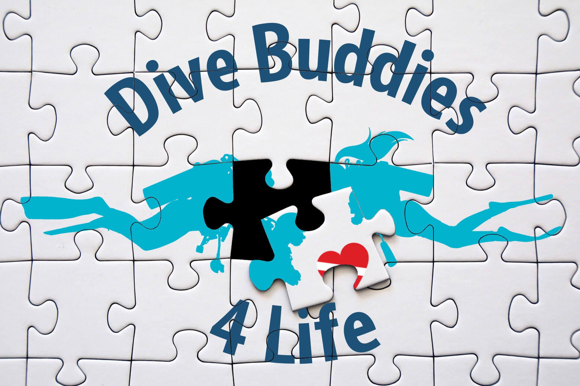 Dive Buddies For Life Puzzle Partnership
