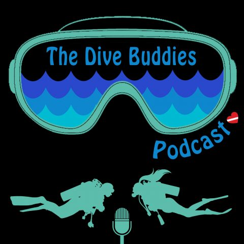 Dive Buddies Podcast Logo