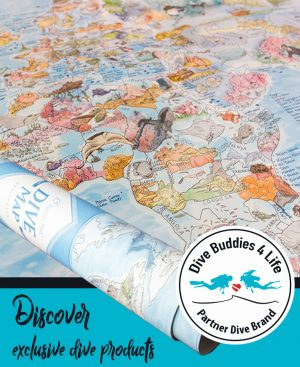 Dive Shop Partner Brand Awesome Maps Sidebar Ad Template