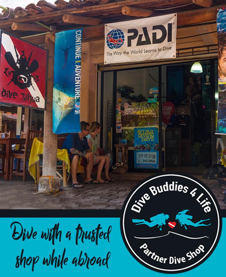 Dive Zihua Dive Buddies Partner Dive Shop