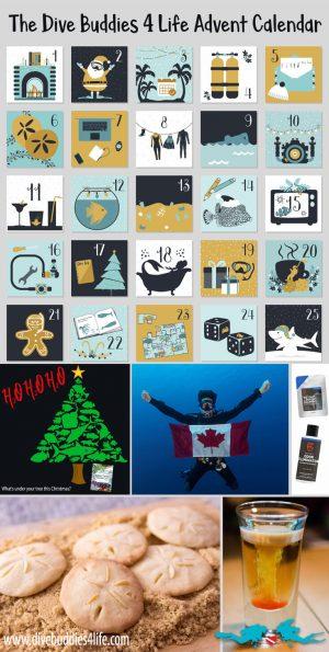 Diving Advent Calendar Pinterest
