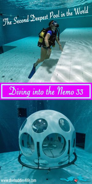 Diving The Nemo 33 The Second Deepest Pool In The World Pinterest