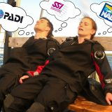 Dive Buddies Dreaming of Different Dive Agencies