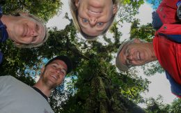 A Family Head Shot in the Monteverde Rainforest