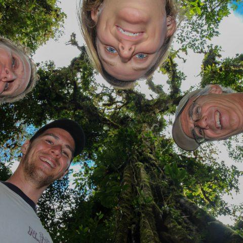 A Family Head Shot in the Monteverde Rainforest