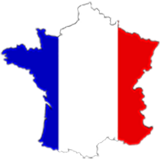 France Country Flag And Shape