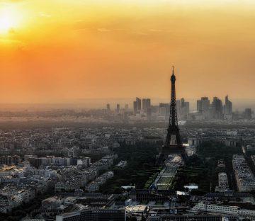 France - Capital City Skyline
