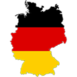 Germany Country Flag And Shape