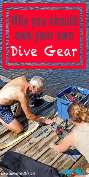 Having Your Own Dive Gear Pinterest