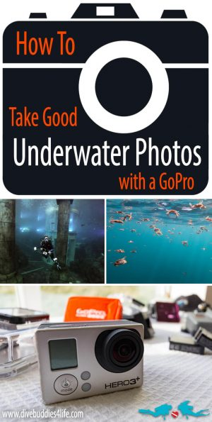 How To Take Good Underwater Photo's With A Go Pro Pinterest
