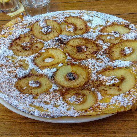 A Cinnamon Raisin Pancake