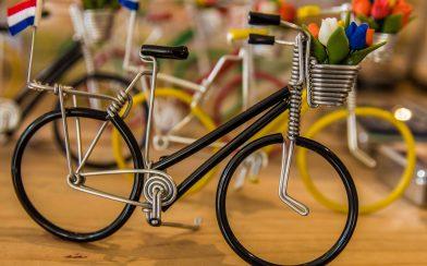 Mini Bikes with Tulips