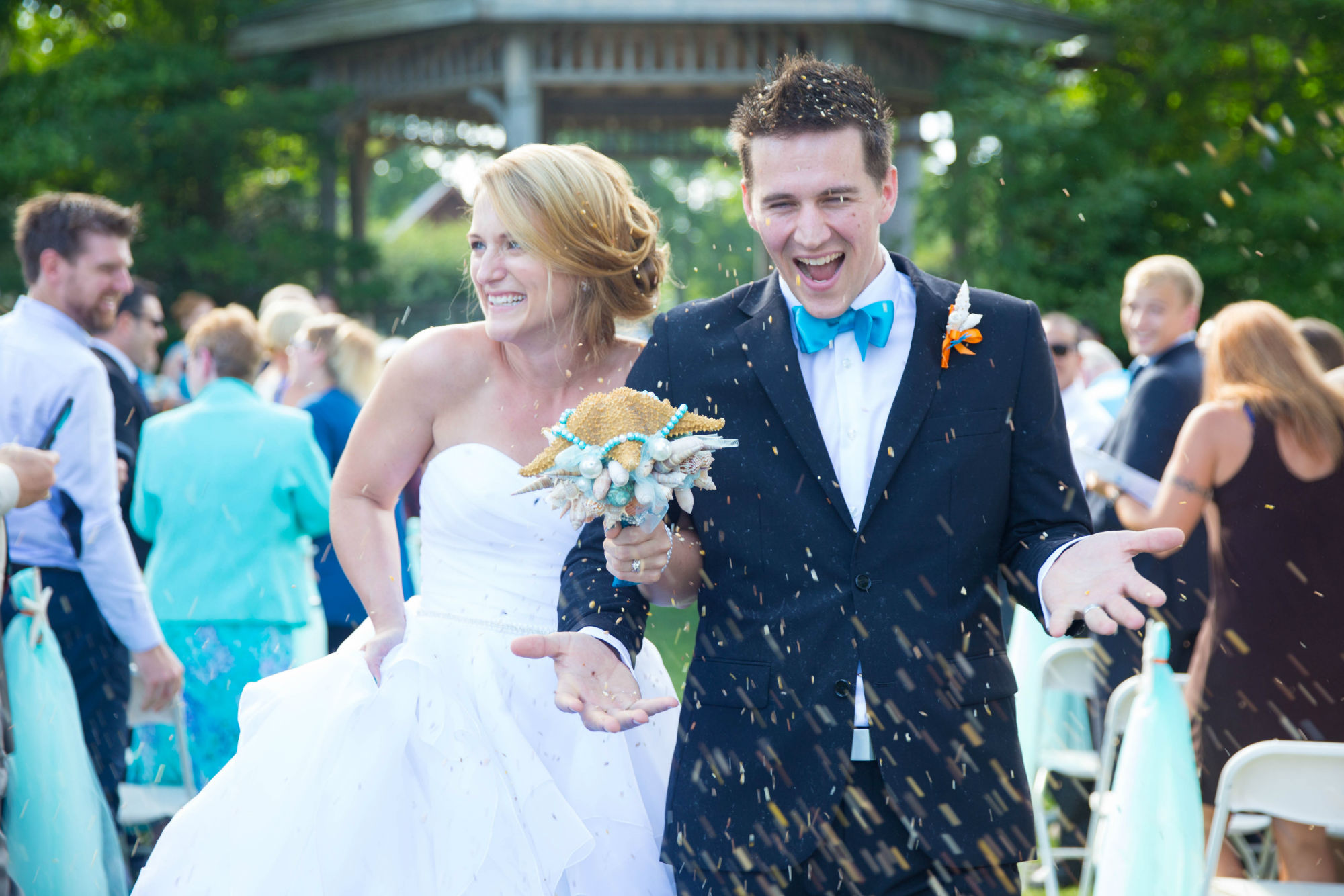 Joey and Ali Scuba Wedding Sprinkles
