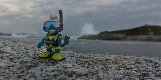 Scuba Joe and the Chaotic Waves of Cranberry Cove